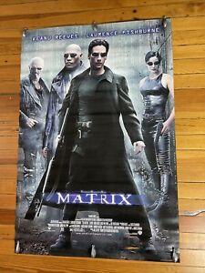 THE MATRIX POSTER - 1 Sided ORIGINAL 27x40 - DVD Promo Poster!