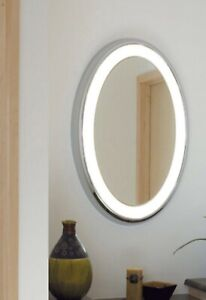 "Tech Tigris 9-LT Oval Mirror,35.4""X25.3.5"" LED930-277 - 700BCTIGOS26S-LED930-277"