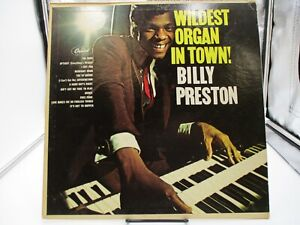 BILLY PRESTON~ WILDEST ORGAN IN TOWN~CAPITOL SY-4644 VG+ cover VG+