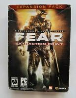 Fear Extraction Point Expansion Pack Windows CD Rom New