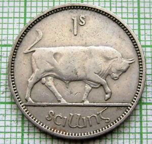 IRELAND 1954 1 SHILLING - 1 Scilling, BULL