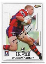2001 Select Promotion Card (29) Darren ALBERT Knights