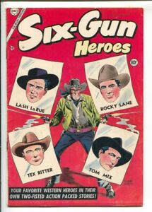 Six-Gun Heroes #29 1954-Dick Giordano cover & Rocky Lane story-Tex Ritter by ...