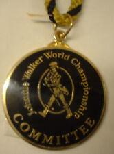 Johnnie Walker Campeonato del Mundo de comité de Esmalte Placa Con Cable Golf Golf
