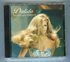 CD de musique album variété dalida