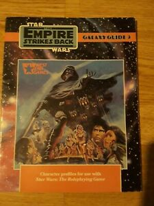Star Wars - Galaxy Guide 3 - Empire Strikes Back  -  RPG Roleplaying game WEG D6