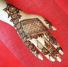 10 Extra Dark Indian Herbal Henna Cones Temporary Tattoos Wholesale Mehndi Cones