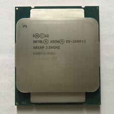 Intel Xeon E5-2680 V3 2.5GHz 12-Core HT Processor Socket 2011-3 CPU X99