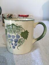 Poole Pottery Taza de viñedo