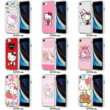 HELLO KITTY CUTE CARTOON PINK POLKA DOTS PHONE CASE COVER TPU APPLE iPhone HKT00