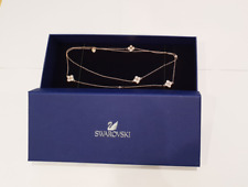 SWAROVSKI Crystal Rose Gold Plated Hall Clover Sautoir Necklace 5290486