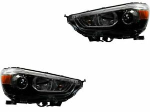 For 2011-2018 Mitsubishi Outlander Sport Headlight Assembly Set 71119XH 2012