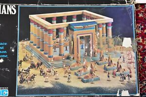1/72 HO  ATLANTIC The Egyptians The Pharaoh's Palace 1507 Almost Complete