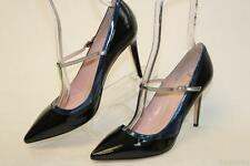Kate Spade NEW Pita Womens 9 B Saffiano Leather Mary-Jane Pumps Shoes ITALY cz