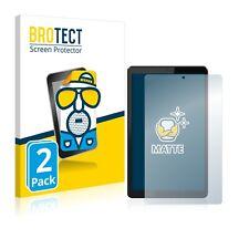 2x Display Schutz Folie für Lenovo Tab M8 Matt Entspiegelt