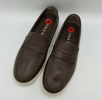 Cole Haan Hyannis Penny Loafer II Brown Leather Slip On Shoes C26467 [Size 10]