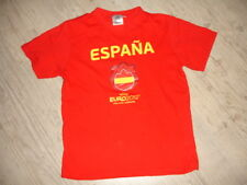 Tee-shirt maillot ESPAGNE Euro 2012 12 ans