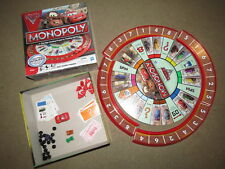 Disney Pixar Cars 2 Monopoly game - Spin Lightning McQueen to move!