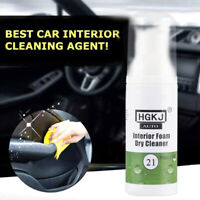 HGKJ-21-50ml Interior Leather Cleaning Foam Dry Cleaning Agent Auto Care 1Bottle