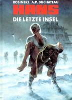HANS - DIE LETZTE INSEL OVP von Rosinski ( Thorgal ) HETHKE VERLAG