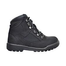 Timberland 6 Inch F/L Field Little Kid's Waterproof Boots Black Nubuck tb044790