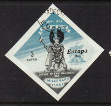 GB 1961 LUNDY ISLAND EUROPA 1954 ISSUE 3p ERIC WITH SHIP USED CTO GREAT BRITAIN