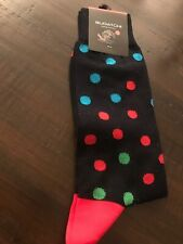 bugatchi mens socks Nautical NWT Made In Italy