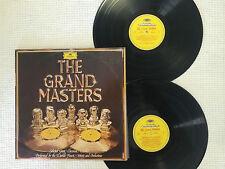 THE GRAND MASTERS  DEUTSCHE GRAMMOPHON CLASSICAL 1976 NEW ZEALAND PRESS 2 x LP