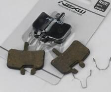 2 PAIRS NZKW SEMI METAL DISC BRAKE PADS SUIT HAYES NINE HFX 9 MX1 MAG PROMAX
