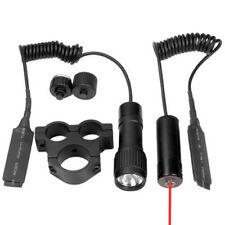 Barska Tactical Red Dot Laser Sight w/ Flashlight & Mount For Scope, Au11005