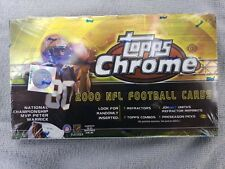 2000 Topps Chrome Football Hobby Box - Rookies and Refractors!!