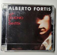 ALBERTO FORTIS TRA DEMONIO E SANTITA' CD NUOVO SIGILLATO 2008