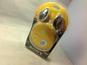Rare Collectible Sony DE350 CD Player Walkman ESP MAX - Radium Gold (D-E350/NCO)