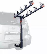 "Allen Sports 5 Bike Hitch Mount Rack Black 2"" Receiver Car Steel Deluxe Locking"