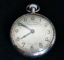 Beautiful Antique Austrian Metallic  Railway Time keeper Pocket Watch