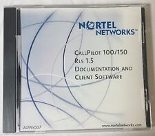 Nortel Norstar Call Pilot 100 150 Release 1.5 CD Doc & Client Software NTAB9867