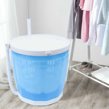 Portable Dual-Loading Mini Washing Machine 2in1 Outdoor Compact Washer Dryer 2Kg