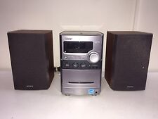 Sony CMT-NEZ30 Micro Hi-Fi System AM/FM/CD/MP3/Cassette Player HCD No Remote
