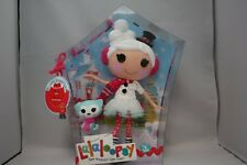 LALALOOPSY WINTER SNOWFLAKE  WITH PET CAT FULL SIZE DOLL MIP NEW SEW MAGICAL