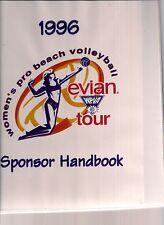 Women's Pro Beach Volleyball 1996 Sponsor Handbook