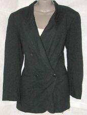 Jones New York Suit Jacket Black Double Breast  SZ - 8 Pre-owned