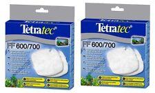 2 x Tetratec FILTRO Floss PAD Tetra Tec EX600 EX700 PESCI TROPICALI SUPPORTI SERBATOIO