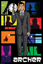 ARCHER - TV SHOW POSTER - 24x36 FX COMEDY 3103