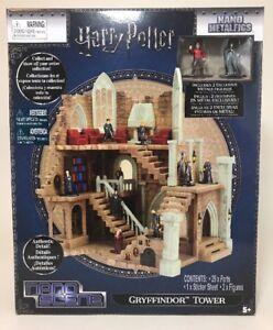 Harry Potter Nano Scene Metalfigs Gryffindor Tower Includes 2 Figures Play Set