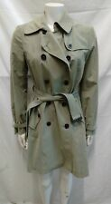 giacca cappotto trench donna Benetton primaverile misto cotone taglia 42