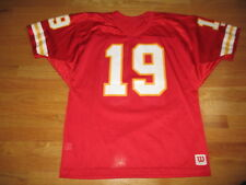 Vintage Wilson JOE MONTANA No. 19 KANSAS CITY CHIEFS (XL) Jersey