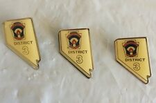 Little League Pins Lot Of (3) Nevada District 3 Pins