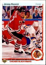 1990-91 Upper Deck #63 Jeremy Roenick Chicago Blackhawks ROOKIE CARD