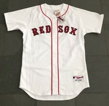 NWT Authentic On Field BOSTON RED SOX #18 Jersey 44 Majestic $200 Fenway Store