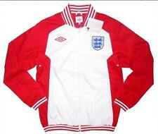 GIACCA UMBRO INGHILTERRA 2010 ENGLAND TRACK TOP JACKET BOMBER TG L